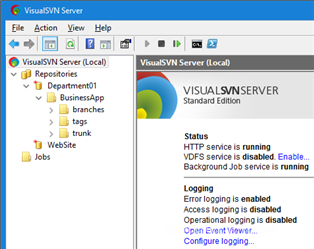 VisualSVN Server Enterprise v3.8.1