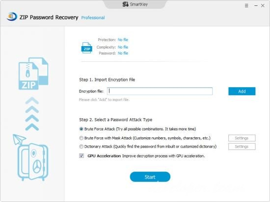 SmartKey Zip Password Recovery Pro 8.0.0.0 Multilingual