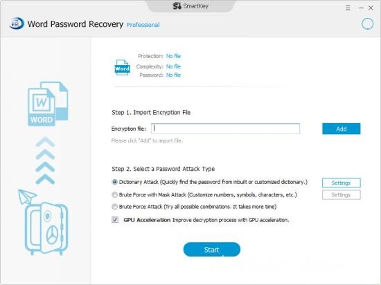 SmartKey Word Password Recovery Pro 8.2.0.0 Multilingual