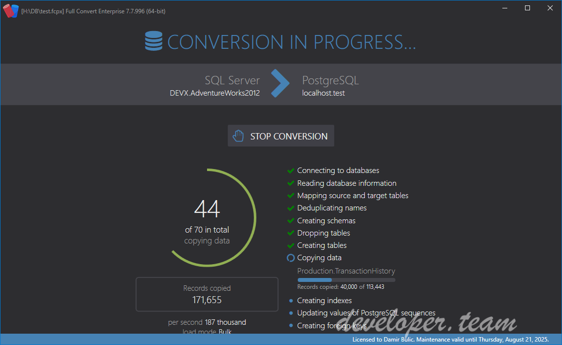 Spectral Core Full Convert Enterprise v19.10.1553