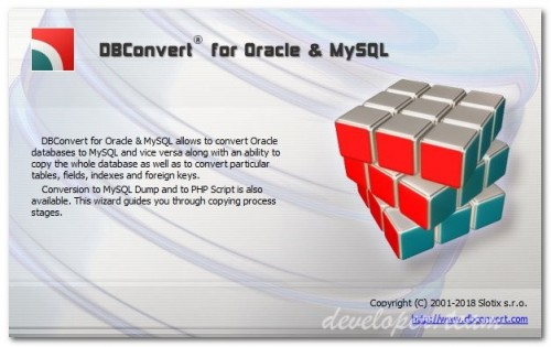 DBConvert for Oracle and MySQL 2.2.2 Multilingual