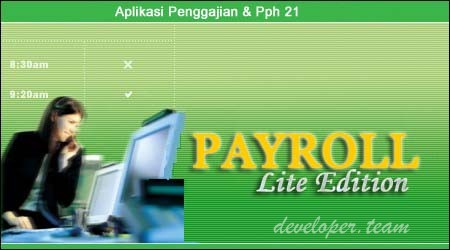 Payroll Lite Edition : Indonesian Payroll with PPH21 Calculation