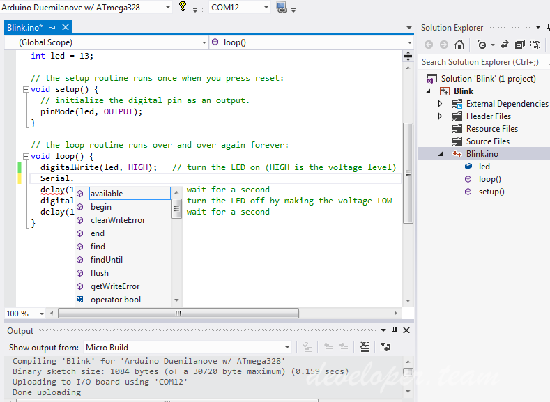 Visual Micro 1806.2.1 (Arduino IDE for Visual Studio and Atmel Studio)