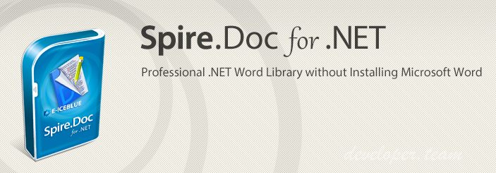 Spire.Doc for .NET 6.5.10