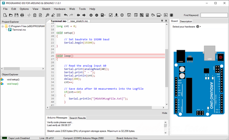Programino IDE for Arduino v1.6.0.0 Business/Private License