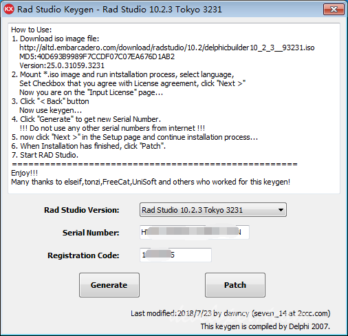 Rad Studio 10.2.3 Tokyo 3231 Architect Edition Keygen with Source Code