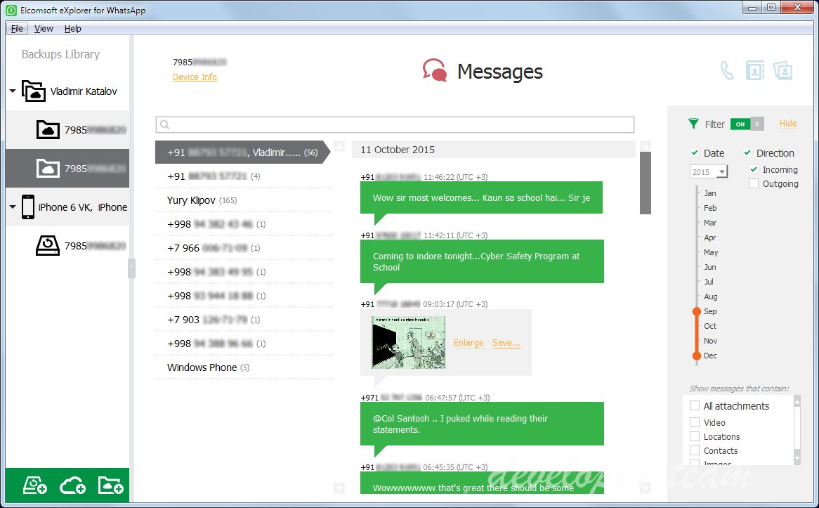 Elcomsoft Explorer For WhatsApp 2.40 Build 27468 Forensic Edition