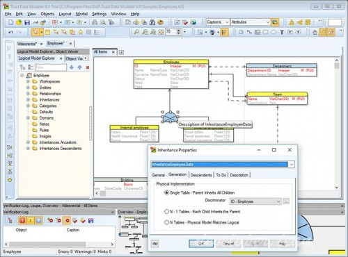 Toad Data Modeler 6.5