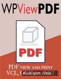 WPCubed WPViewPDF 4.6.3 for Delphi