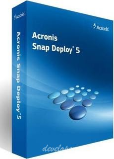Acronis Snap Deploy 5.0.0.1780 + WinPE Boot Medias