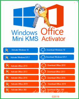 Windows and Office Mini KMS Activator 1.1