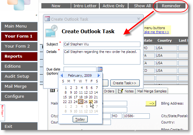UI Builder for Microsoft Access Enterprise Edition Version 5.4