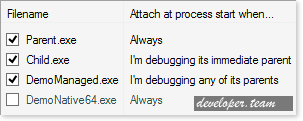 Entrian Attach - Auto-Attach Debugger Add-In for Visual Studio v1.4.6