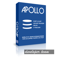 Apollo Embedded VCL Components v7.5 XE7 - Delphi 10.3 Rio Full Source